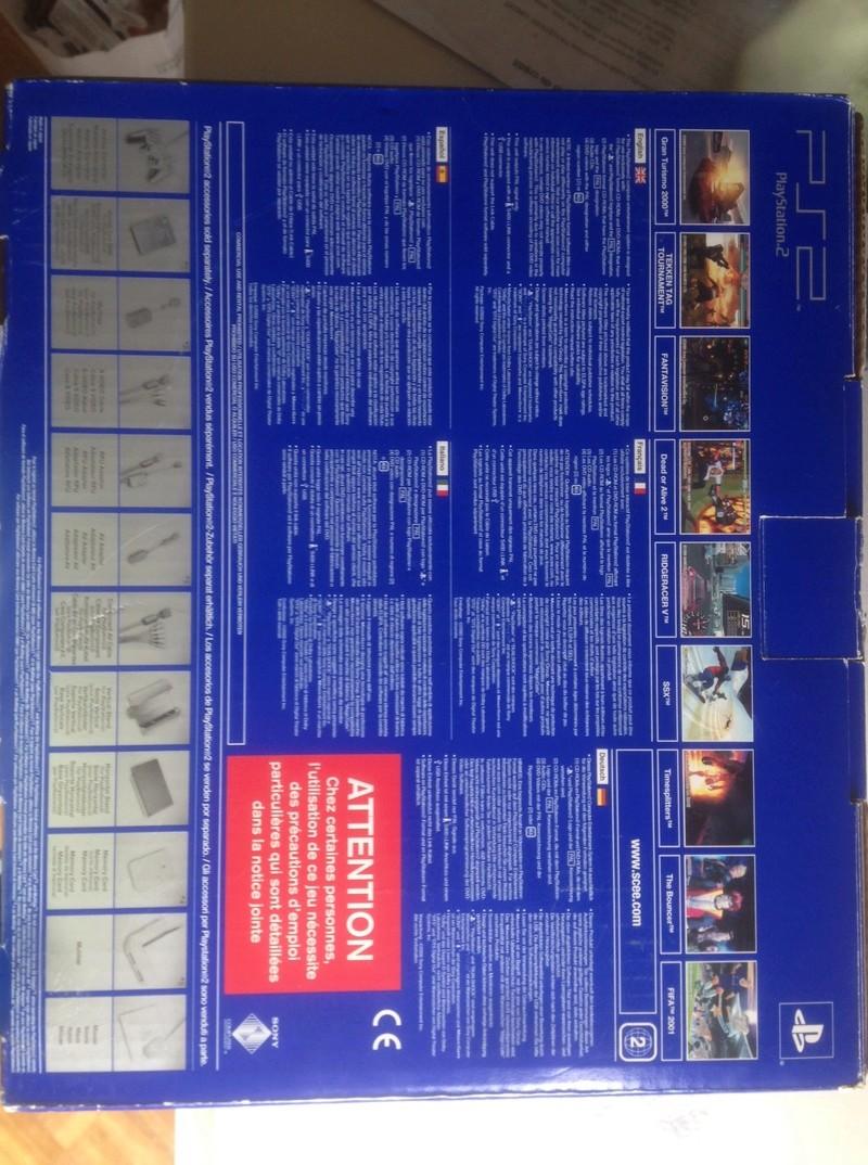 [ESTIM] Console PlayStation 2 - version 1 complète en boite Image114