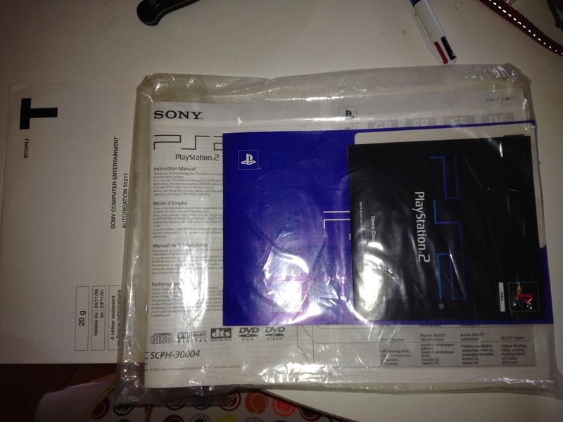 [ESTIM] Console PlayStation 2 - version 1 complète en boite Img_0713