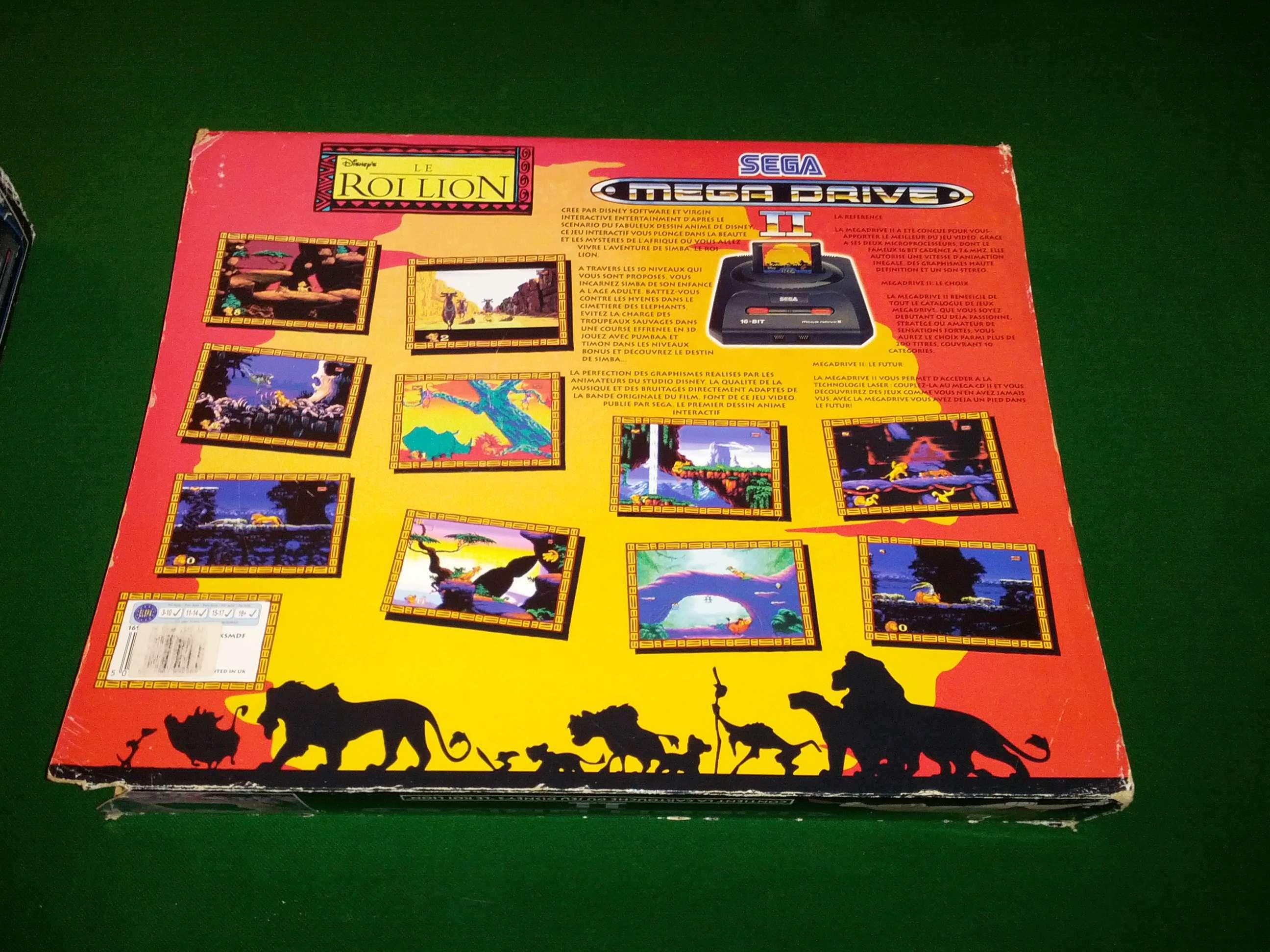 [VENDS] Console Megadrive II - Pack Le Roi Lion - complet en boite Img_2030