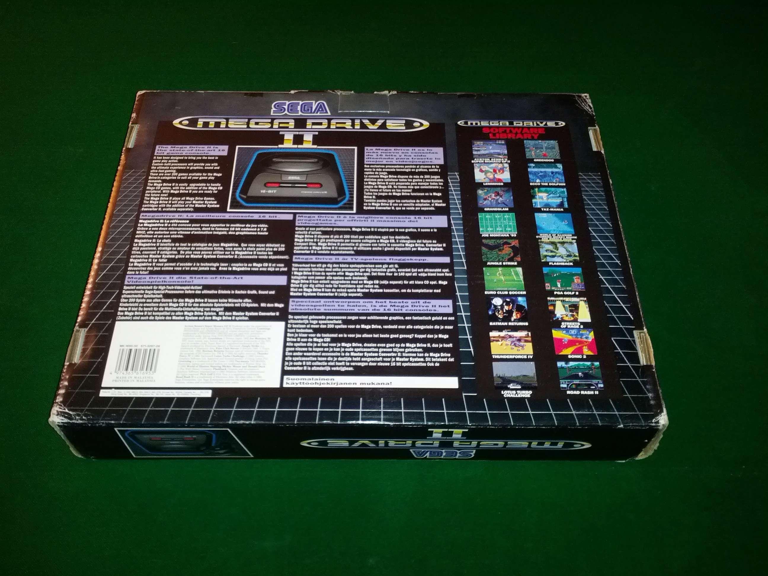 [VENDS] Console Megadrive II - Pack Le Roi Lion - complet en boite Img_2031