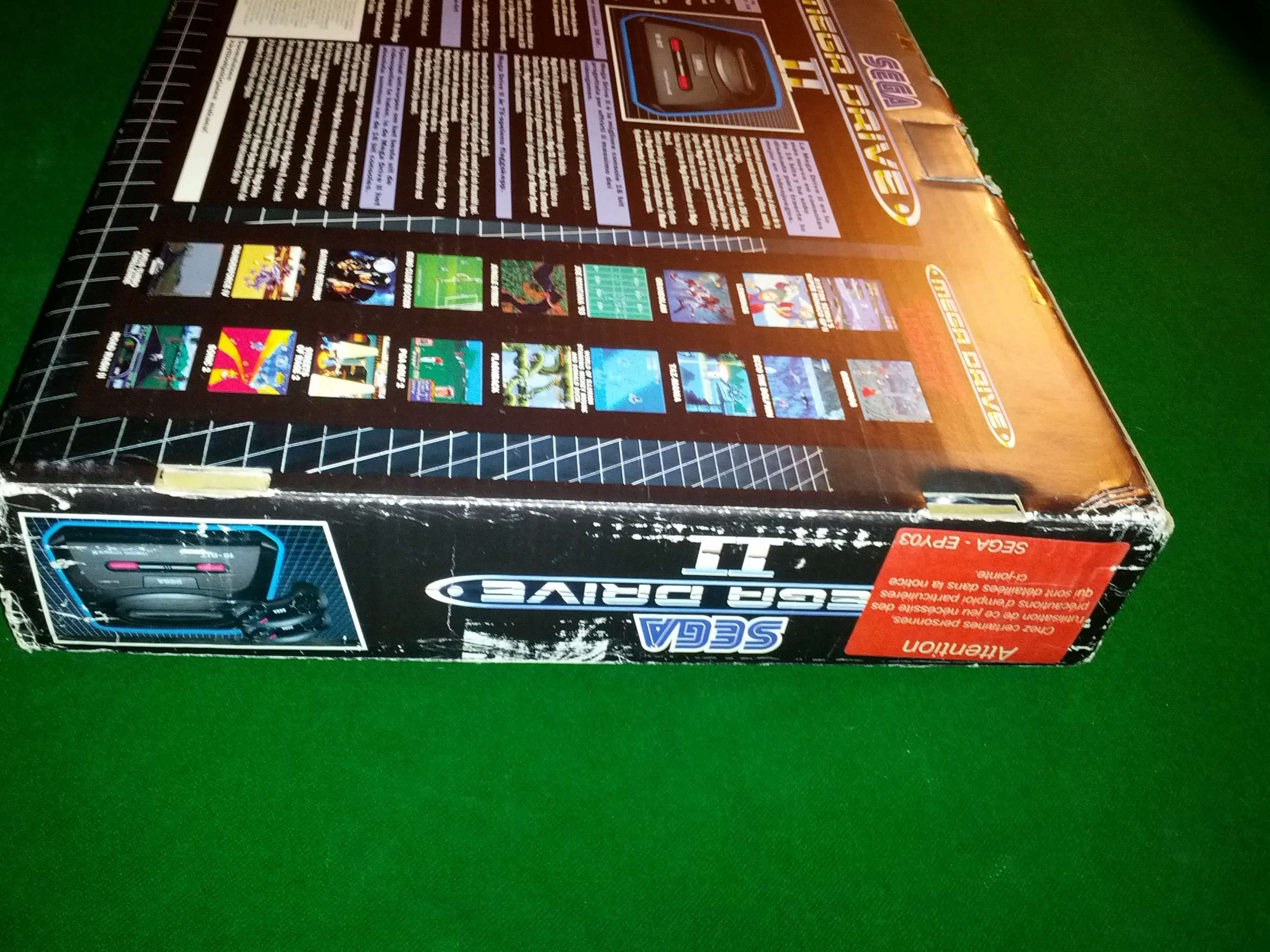 [VENDS] Console Megadrive II - Pack Le Roi Lion - complet en boite Img_2033