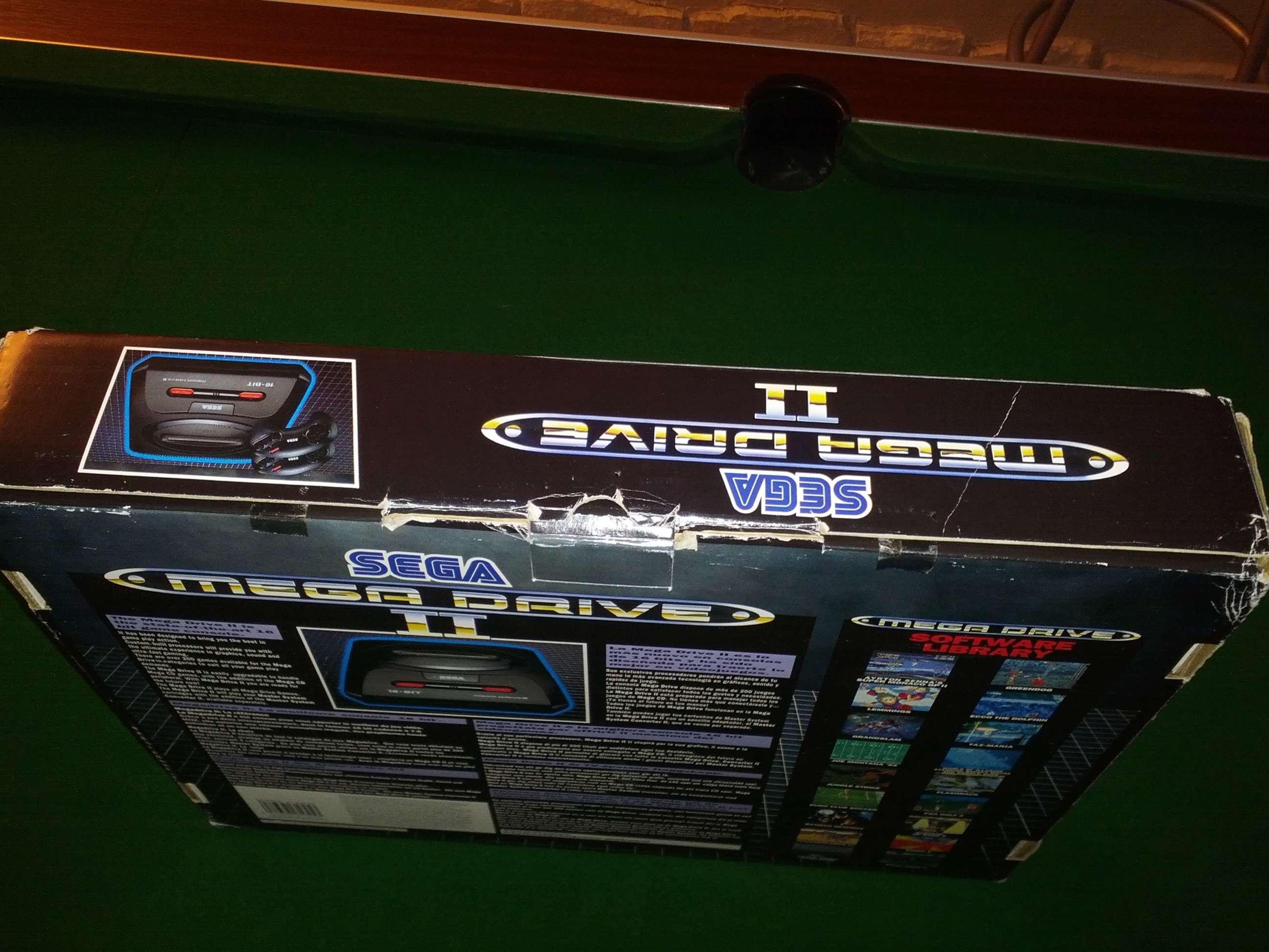 [VENDS] Console Megadrive II - Pack Le Roi Lion - complet en boite Img_2034
