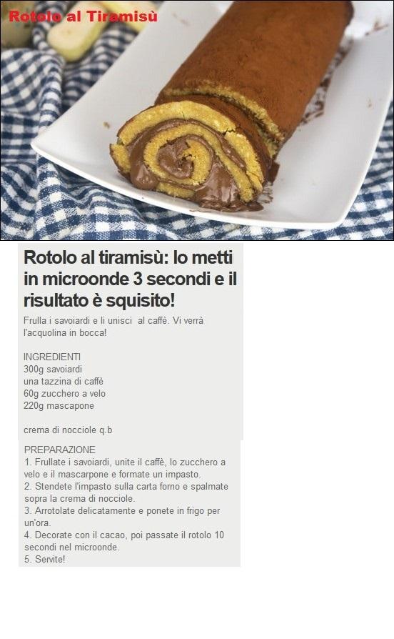 Torte e dolcetti vari - Pagina 3 Rotolo10