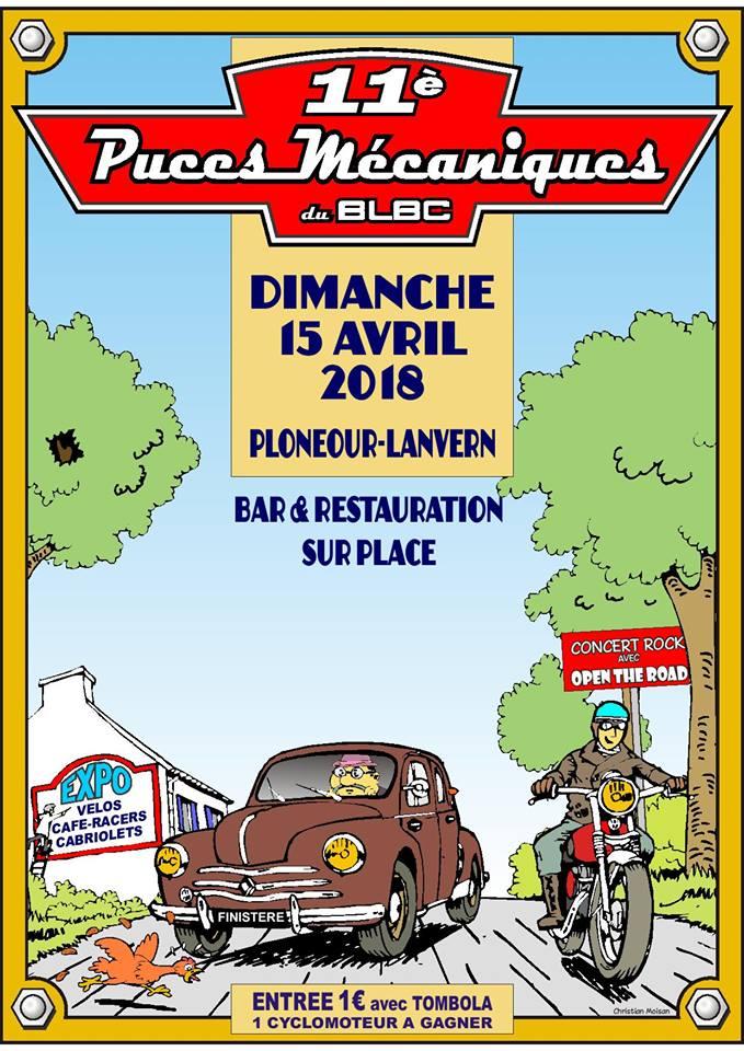PUCES MECANIQUES PLONEOUR LANVERN DEP 29 15/04/2018  27752010