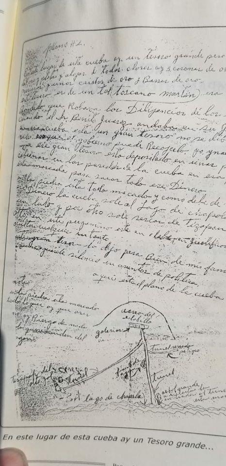 El fabuloso tesoro perdido de Benito Juárez M1010