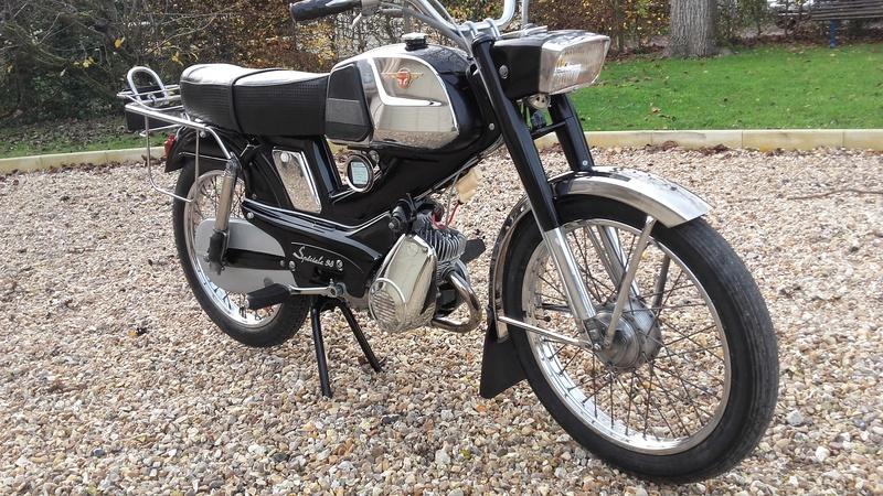 Ma MOTOCONFORT SP 98 de 1967  Restaurée  20161113