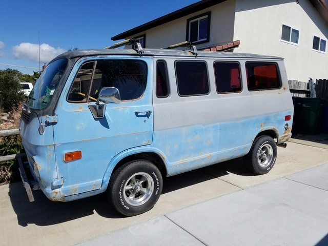 looking for a clean 64-66 window van A210