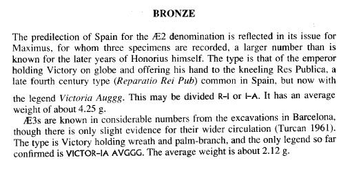 un rare bronze de  Maxime de Barcelone Maxime11