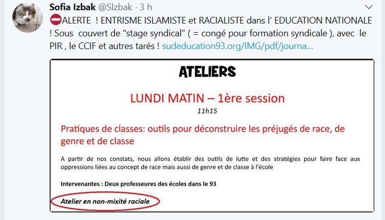 Alerte : stage syndical raciste ! Non-mi11