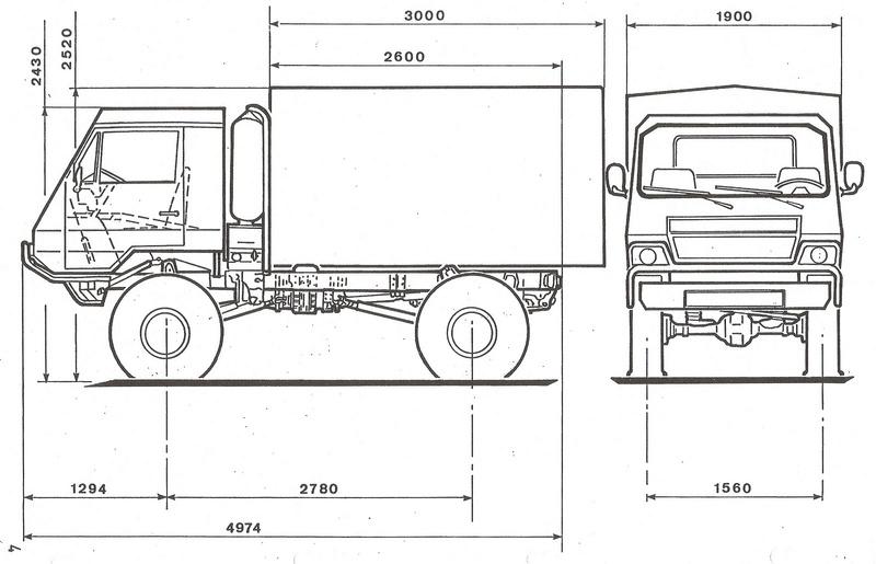 Carrosserie 3D Camion Oshkosh HEMTT 4x4 6x6 8x8 pour Scx10 et tout Scale et Crawler 1/10 Brimon11