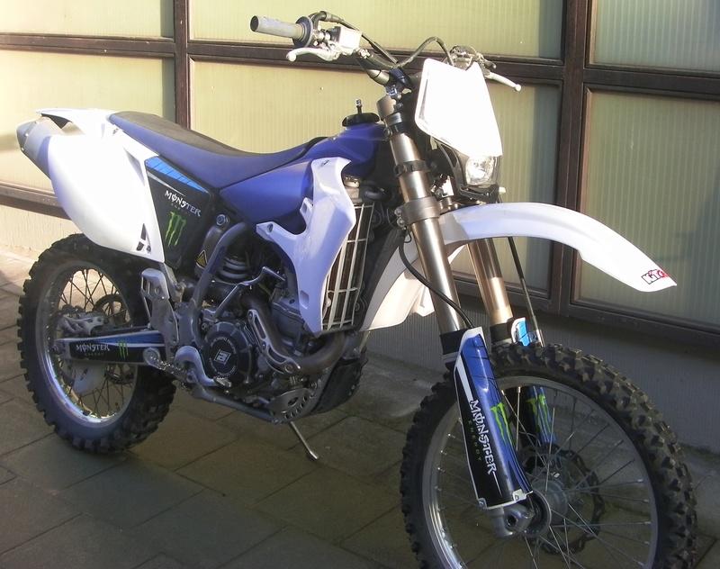 Yamaha wrf 450 Sany0011