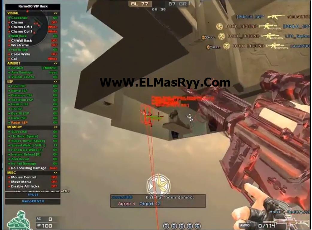 RamoXO VIP V3.0 Crossfire NA/AL/ES Cheat! Aimbot,Fly,WTW,ESP,SuperKill Ramo10