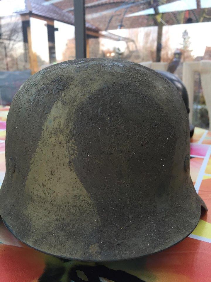 prochain achat  casque allemand béton 110