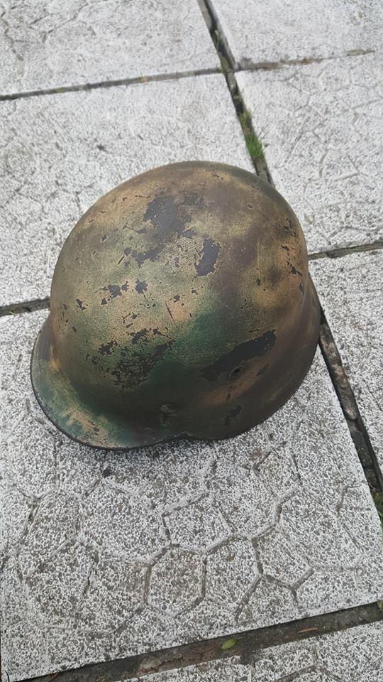 casque allemand camo  31712110