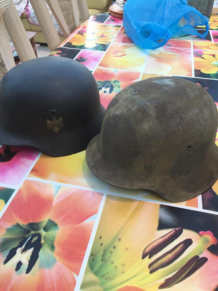 prochain achat  casque allemand béton 710