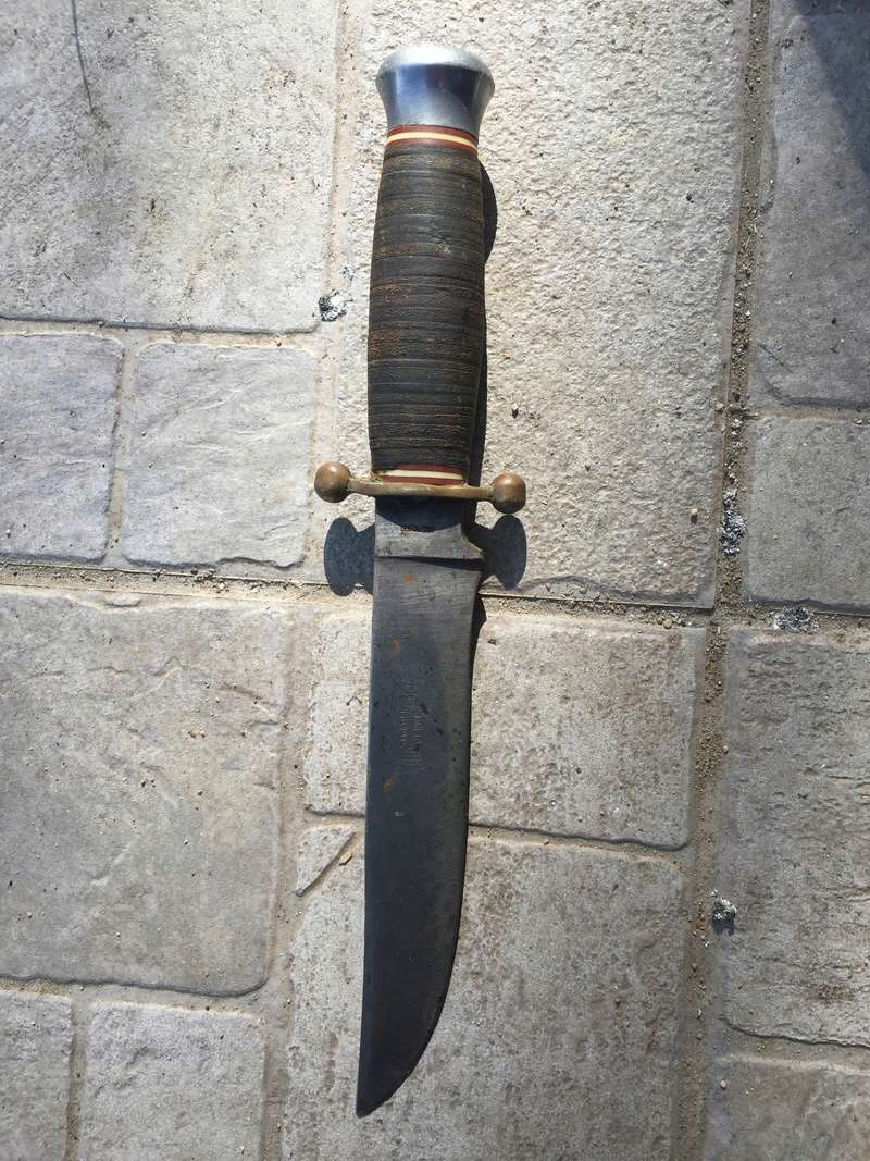 Couteau guerre d'Algérie  27333110