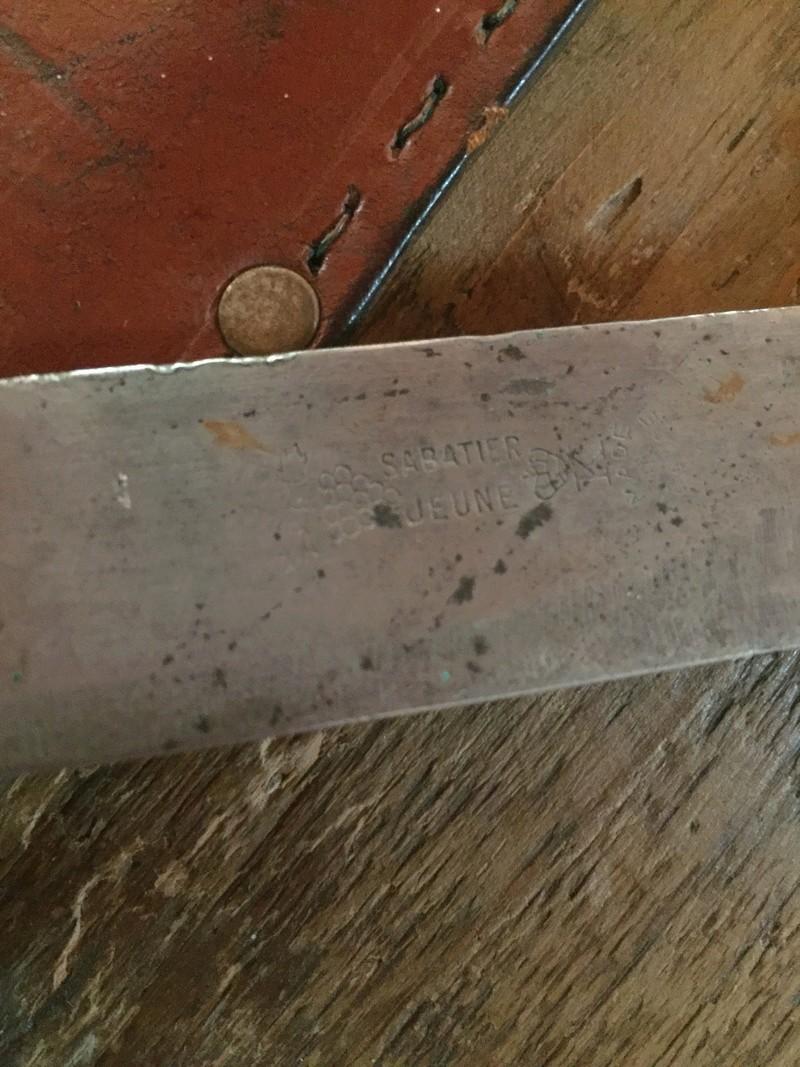 Couteau guerre d'Algérie  29c79810