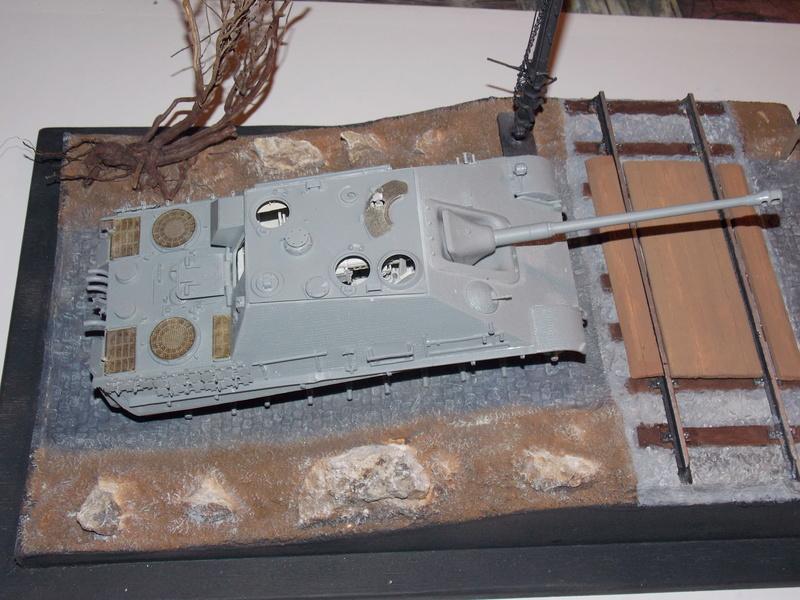 jagdpanther - Jagdpanther sur la voie (dragon 1/35) Dscn6013