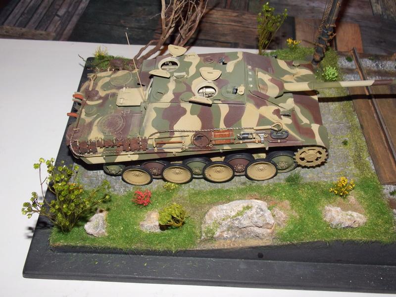 jagdpanther - Jagdpanther sur la voie (dragon 1/35) - Page 2 Dscn6118