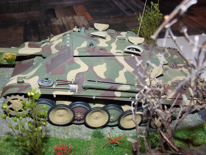 jagdpanther - Jagdpanther sur la voie (dragon 1/35) - Page 2 Dscn6121