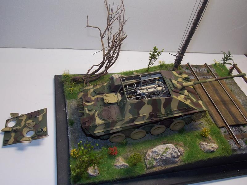 jagdpanther - Jagdpanther sur la voie (dragon 1/35) - Page 2 Dscn6123