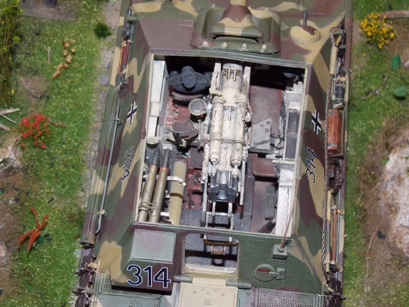 jagdpanther - Jagdpanther sur la voie (dragon 1/35) - Page 2 Dscn6138