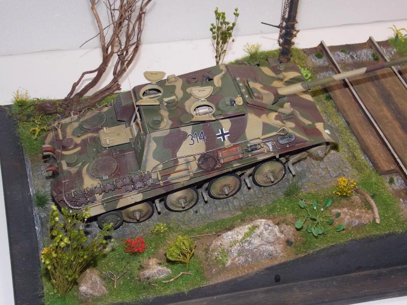 jagdpanther - Jagdpanther sur la voie (dragon 1/35) - Page 2 Dscn6139