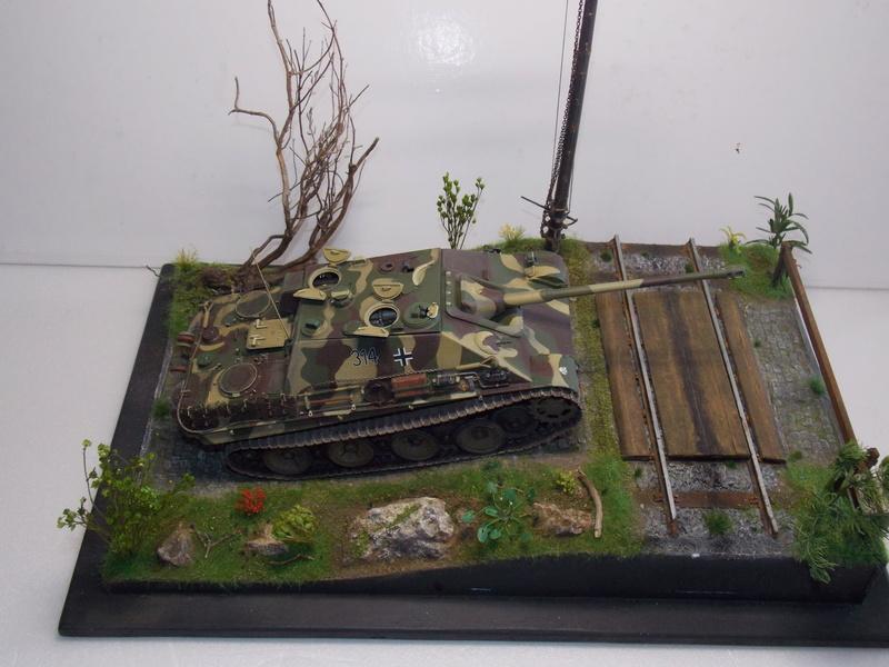 jagdpanther - Jagdpanther sur la voie (dragon 1/35) - Page 2 Dscn6142