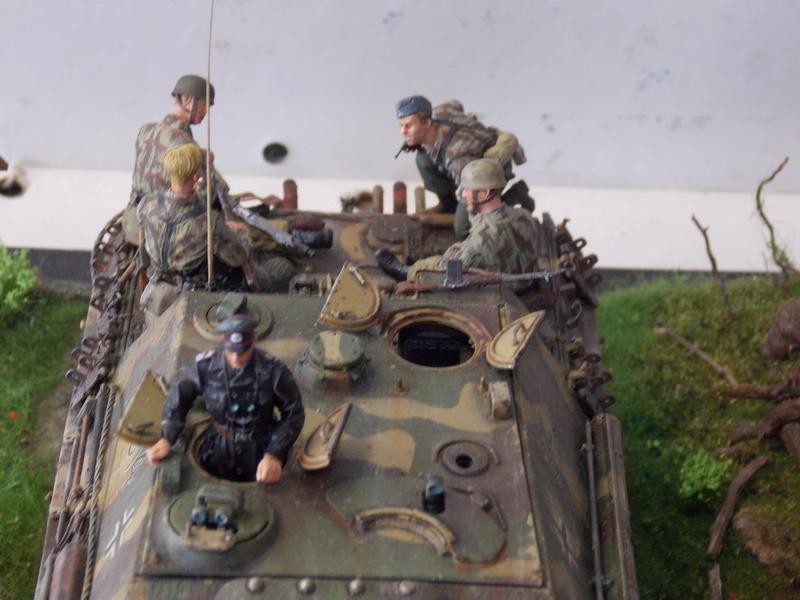 jagdpanther - Jagdpanther sur la voie (dragon 1/35) - Page 3 Dscn6236