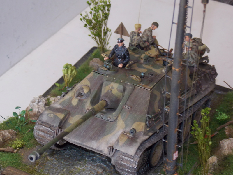 jagdpanther - Jagdpanther sur la voie (dragon 1/35) - Page 3 Dscn6238