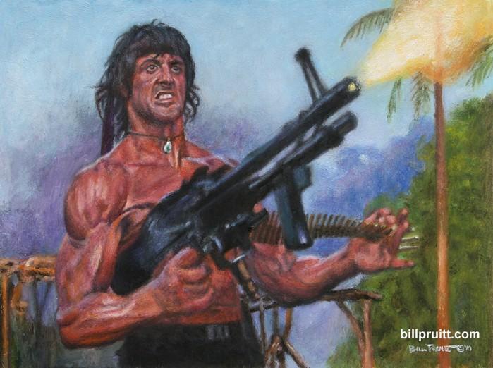 Dessins de Bill Pruitt - Page 3 Rambog10