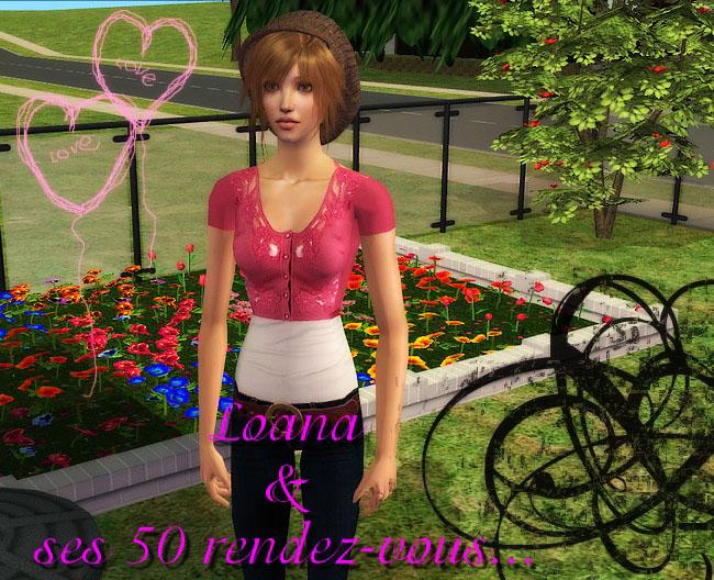 Loana Meating et ses 50 rendez vous Sims2e44