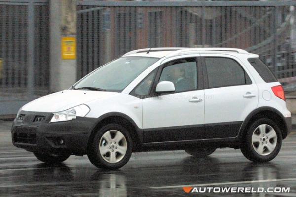 2009 - [Fiat/Suzuki] Sedici/SX4 restylés 230