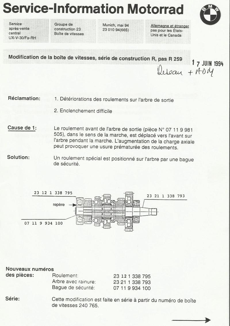 Boite de vitesse R100R cliquetis - Page 2 Boite110