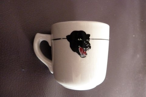 Fierce beast on a demitasse  Demi10
