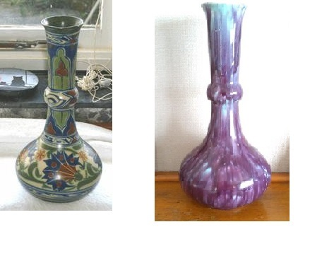 "The ""Ruskin-like"" so-called Crown Lynn trickle glaze: Some information (perhaps)  James_10"