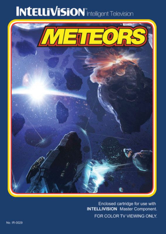 Meteors for Intellivision now available for purchase 65218610