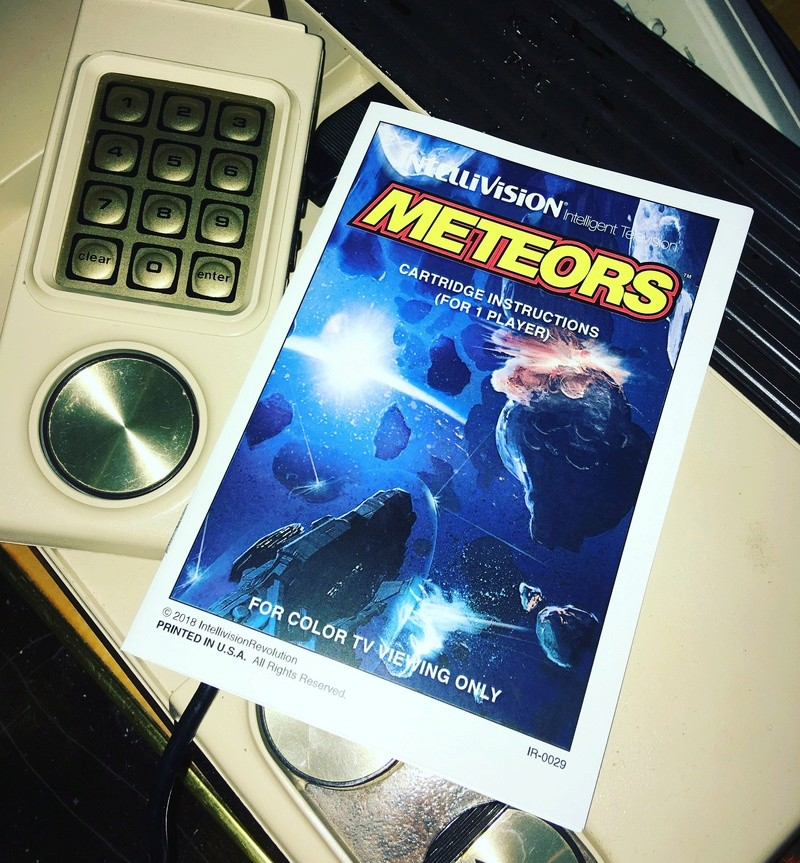 Meteors for Intellivision now available for purchase Bfa59510