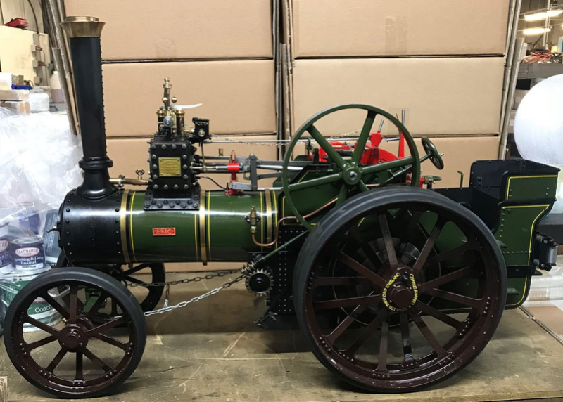 """2"""" Burrell - Built, Painted and Steam once. Last kit only delivered August last year so less than 6 months old. Total saving of around 2.5k!! (NOW SOLD) Dean_p10"""