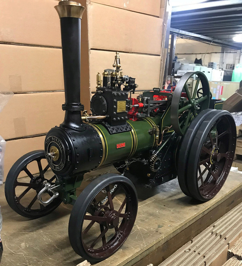 """2"""" Burrell - Built, Painted and Steam once. Last kit only delivered August last year so less than 6 months old. Total saving of around 2.5k!! (NOW SOLD) Dean_p11"""