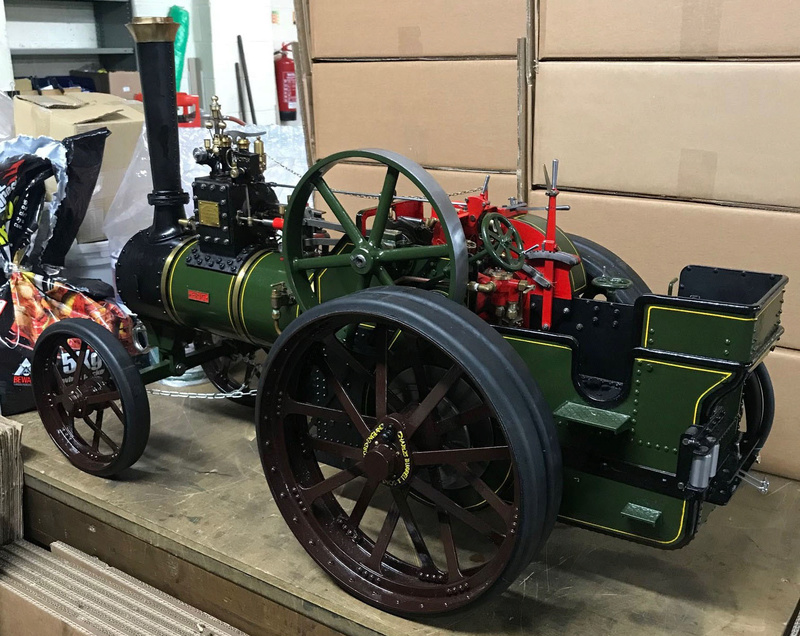 """2"""" Burrell - Built, Painted and Steam once. Last kit only delivered August last year so less than 6 months old. Total saving of around 2.5k!! (NOW SOLD) Dean_p15"""