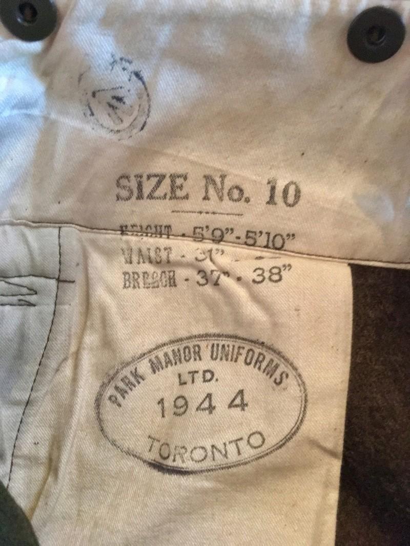 Anglais et canadien ww2 + mannequins  Img_1712