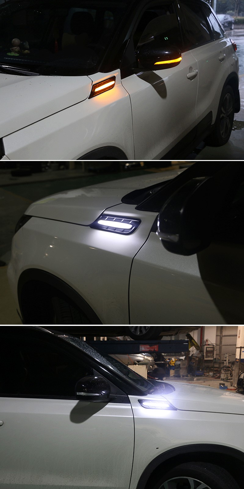 LED INDICATOR/DRL SIDE GARNISH/VENT Htb1y010