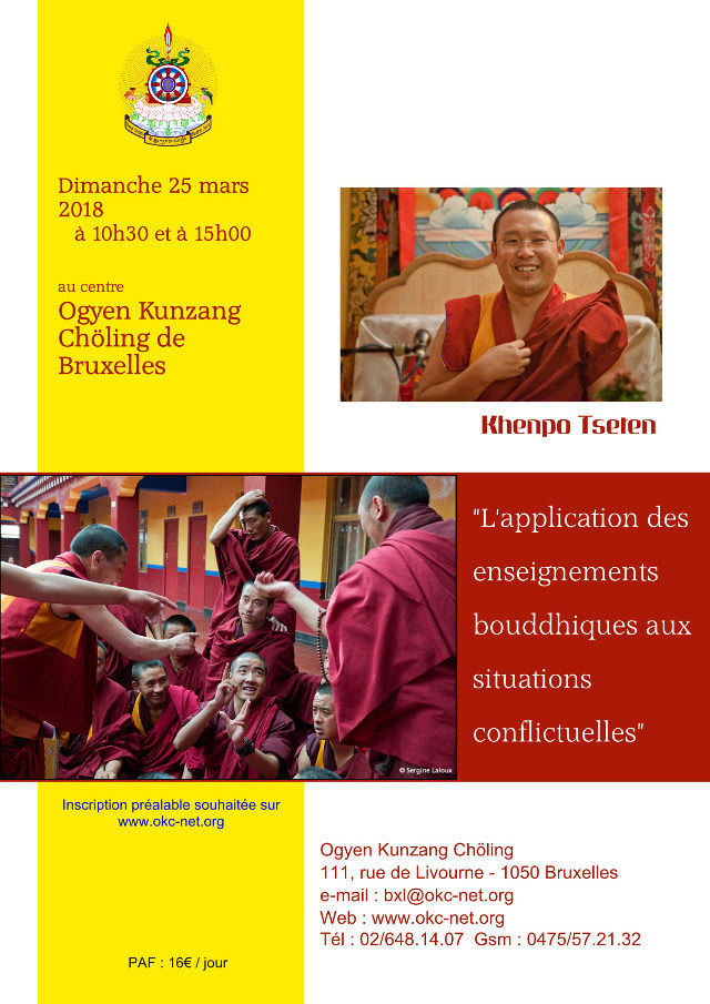 Khenpo Tséten Bruxelles Mars 2018 Kt10