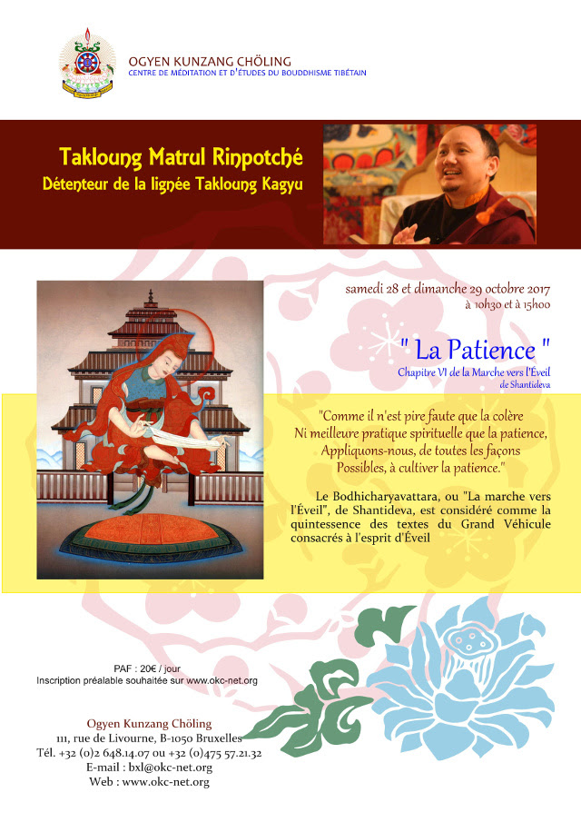 MATRUL Rinpoché à Bruxelles octore 2017 Matrul10