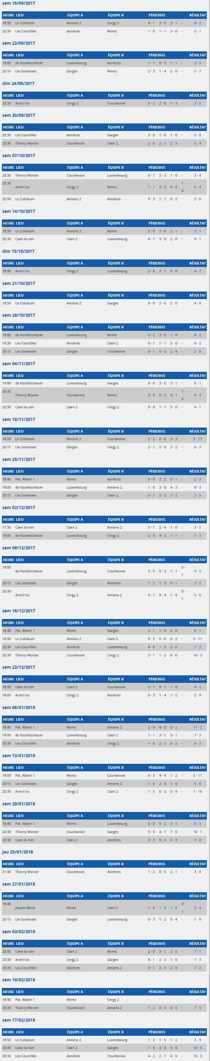 Calendriers des Matchs...Saison 17~18 Screen26
