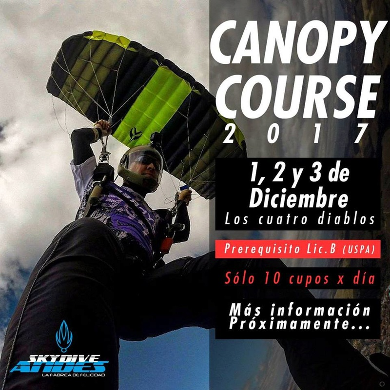 Skydive Andes Canopy Course. 23231210