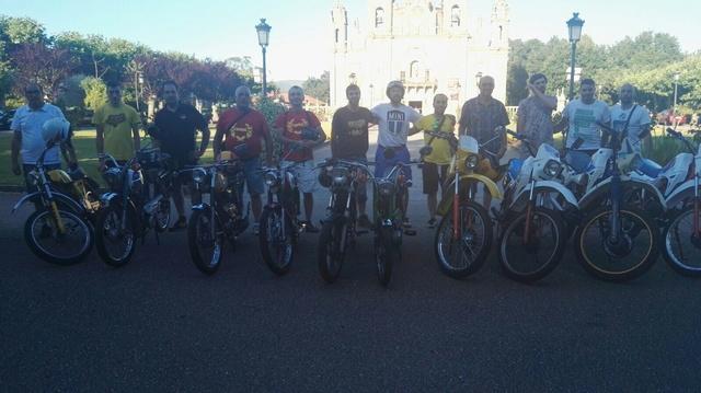 V Volta a Galicia en Ciclomotores Clásicos Img-2010