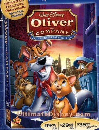 [DVD] Oliver & Compagnie - Edition 20ème anniversaire (2009) Oac20t10