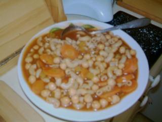 minestrone - soupe minestrone minute de bravo Imag0544